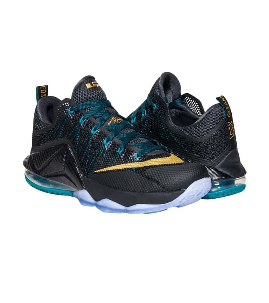 bf9bdf7646141 Nike LEBRON XII LOW SNEAKER (Black) - 724557-070