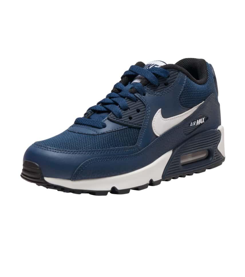 Nike AIR MAX 90 MESH SNEAKER (Navy) - 724824-401  956f1cff1