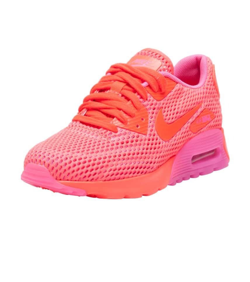 NIKE SPORTSWEAR Air Max 90 Ultra Breathe Sneaker (Pink) - 725061-800 ... ac99329f1