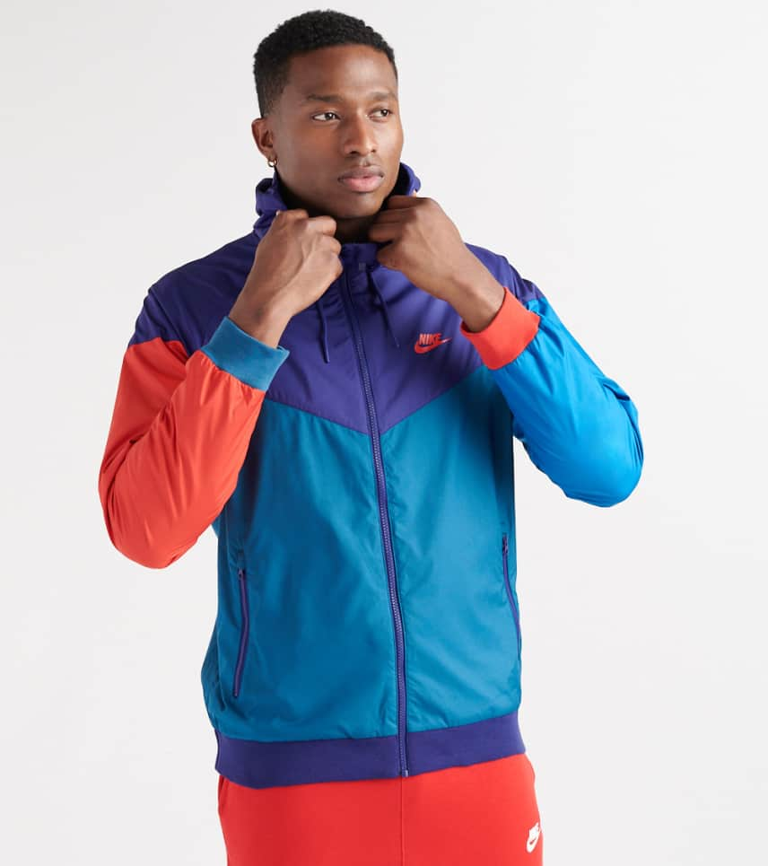 ee4a598f1a16 Nike Windrunner FL Zip Hoodie (Multi-color) - 727324-590