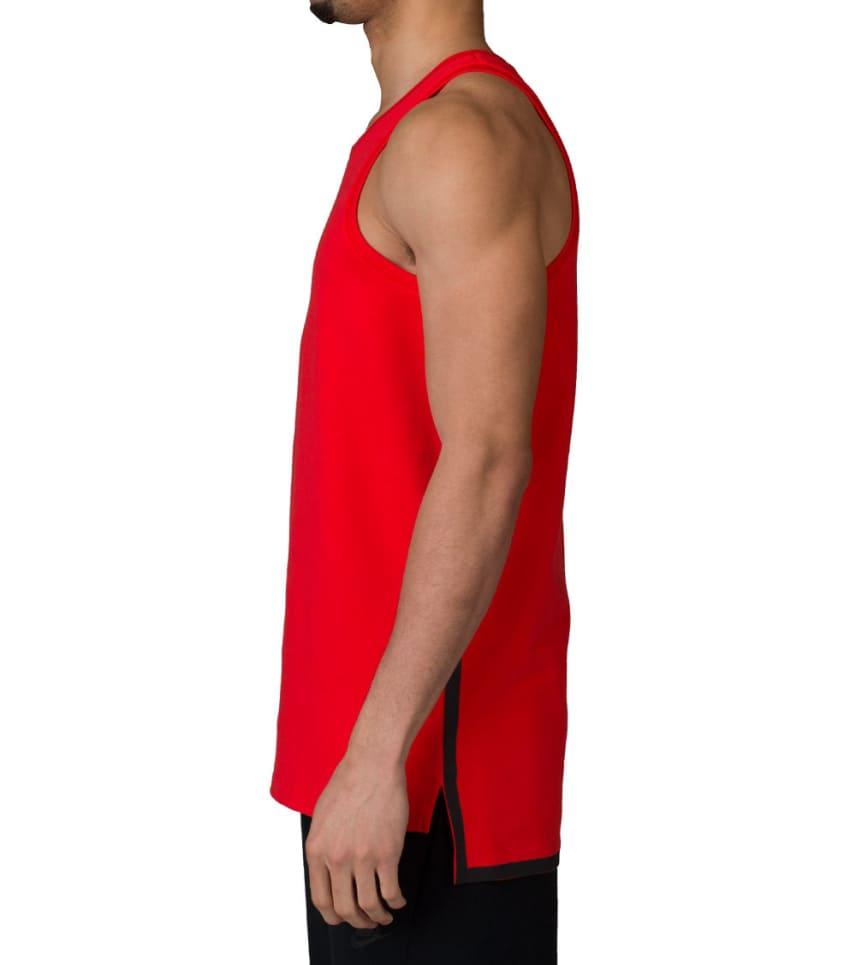51058e27714e03 NIKE SPORTSWEAR NIKE TECH FLEECE TANK (Red) - 727353-696