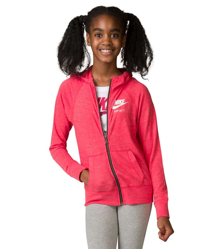 b72f52c339e4 Nike GIRLS 7-16 NIKE GIRLS GYM VINTAGE HOODIE.  19.95orig  50.00. COLOR  Medium  Red. Nike - Hoodies ...