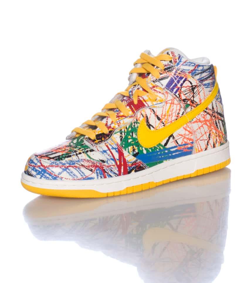 Nike Dunk Hi Premium QS Sneaker (White) - 728443100  d404d2abb6ce