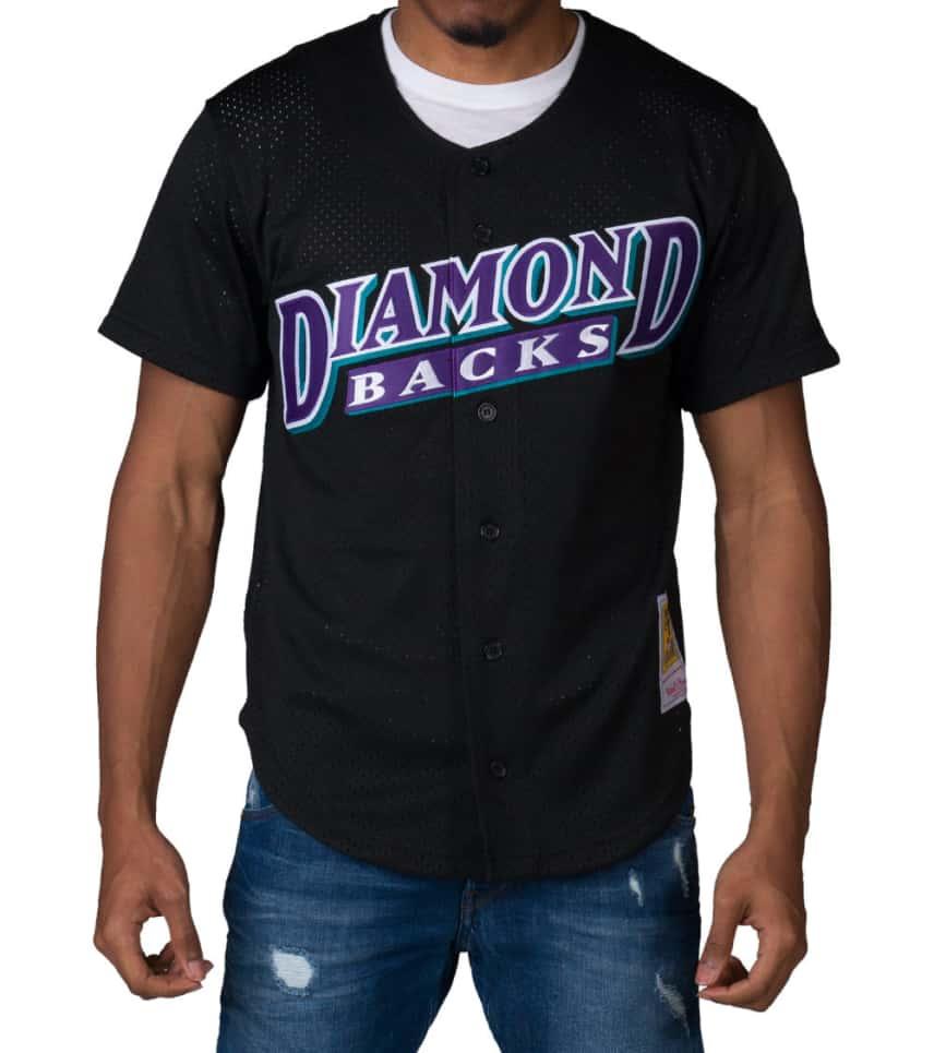 Mitchell and Ness Diamondbacks Matt Williams Jersey (Black ... 73586e236