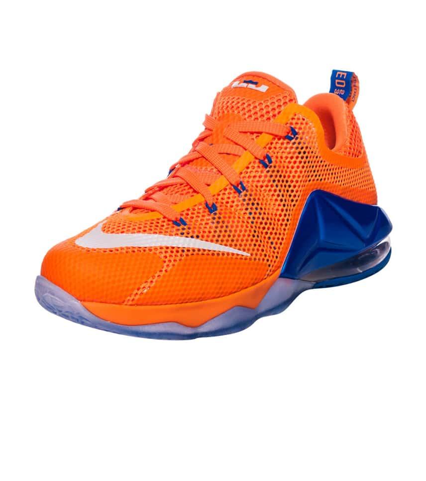 4b6ad63f8b55 Nike LEBRON XII LOW BRIGHT CITRUS SNEAKER (Orange) - 744547-838 ...