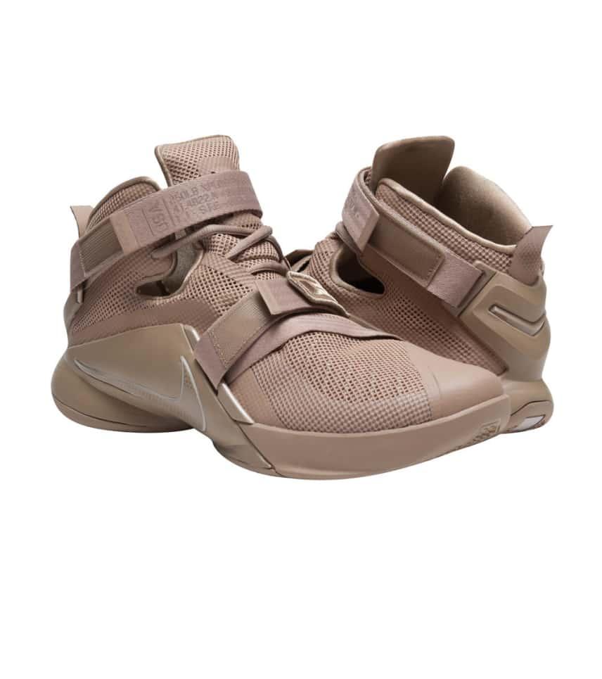0f7c096af72 Nike LEBRON SOLDIER IX PRM SNEAKER (Medium Brown) - 749490-222 ...