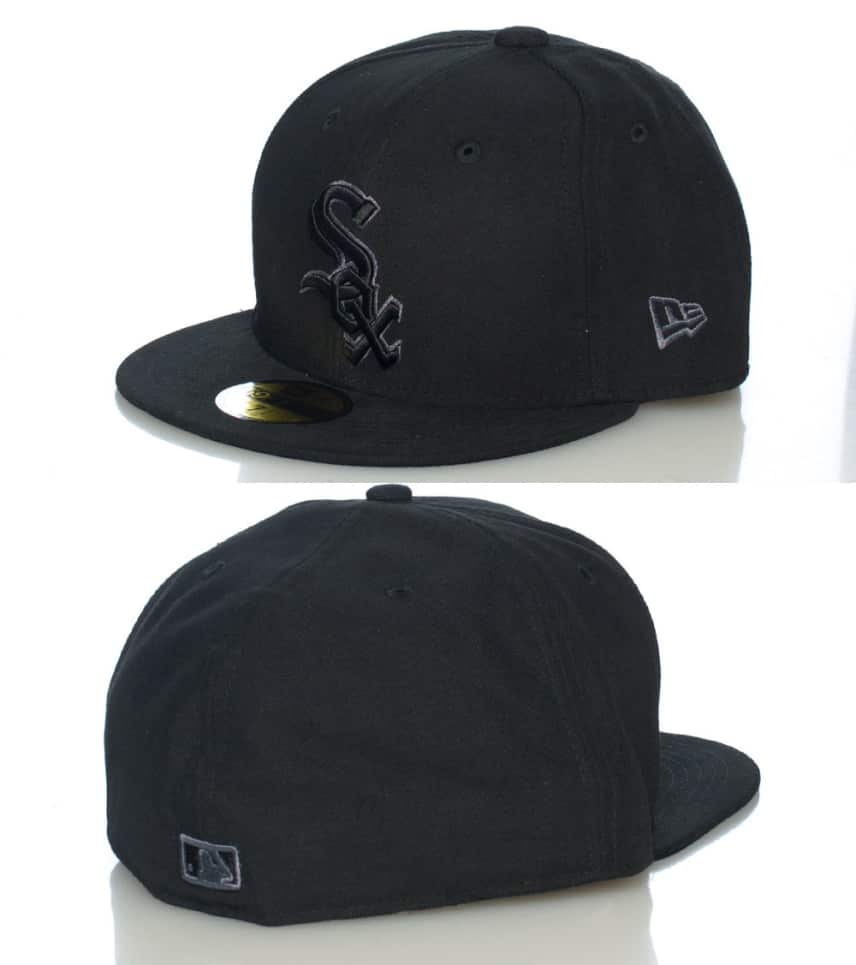 15f70e5d7f2 NEW ERACHICAGO WHITE SOX MLB FITTED CAP.  19.99orig  29.99. COLOR  Black