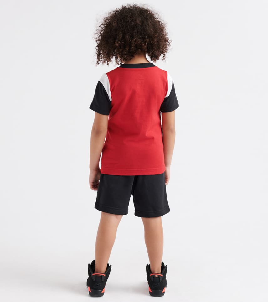 26e0a5b7 Jordan Iconic 23 Tee/Shorts Set (Red) - 755997-023   Jimmy Jazz
