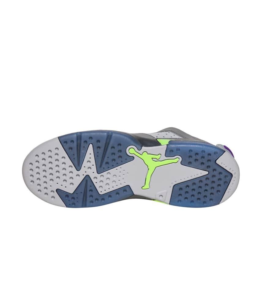 168d82ea419 Jordan Retro 6 Low Ultraviolet Sneaker (Grey) - 768884-008