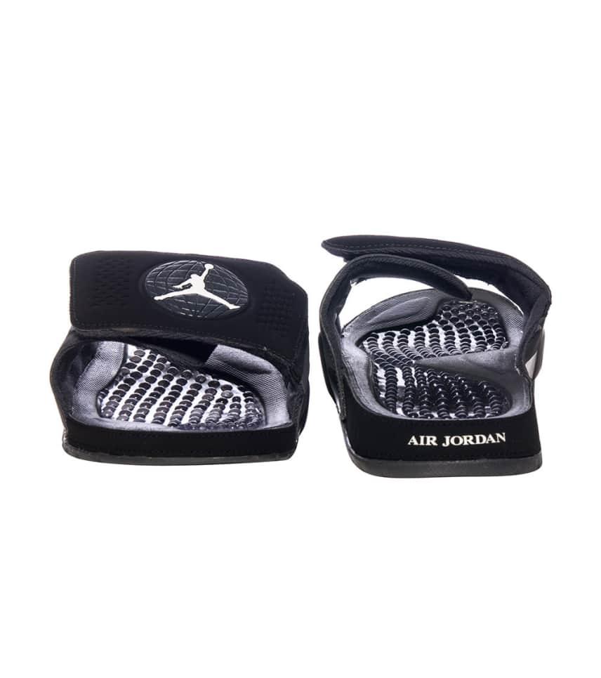 Jordan HYDRO IX RETRO SANDAL (Black) - 768936-002  a4fd9d05d