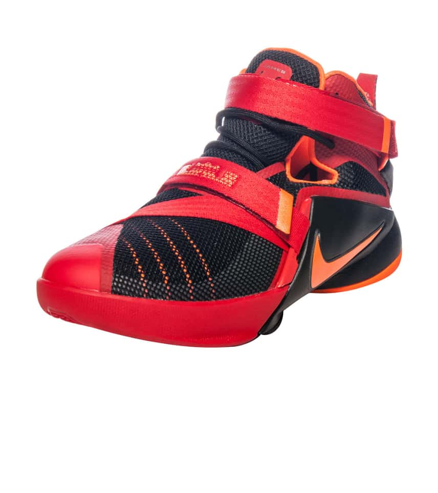 7fc367bfc0d6e Nike LEBRON SOLDIER IX SNEAKER (Red) - 776471600