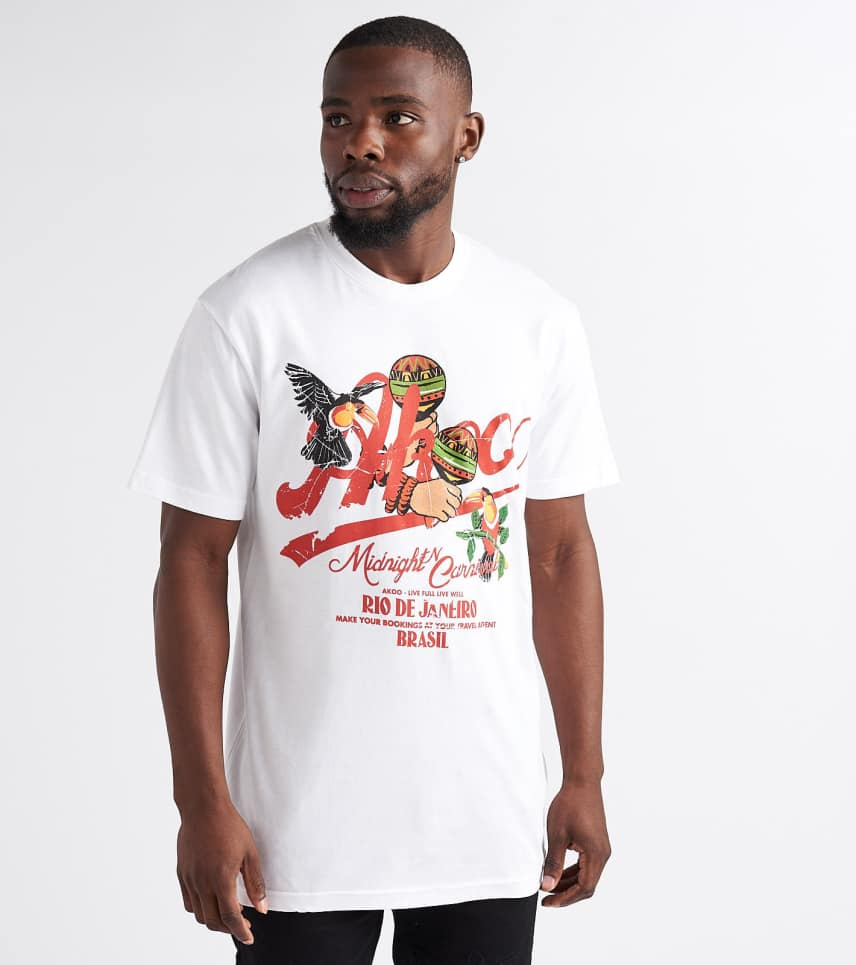 d466b52d1a7 A.K.O.O. Bird Eye Tee (White) - 7818205-WHT
