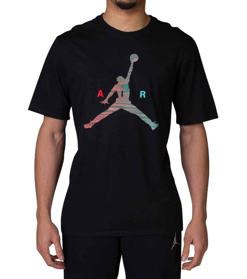 6b348a3344e Jordan AIR JUMPMAN SS TEE (Black) - 789632-010 | Jimmy Jazz