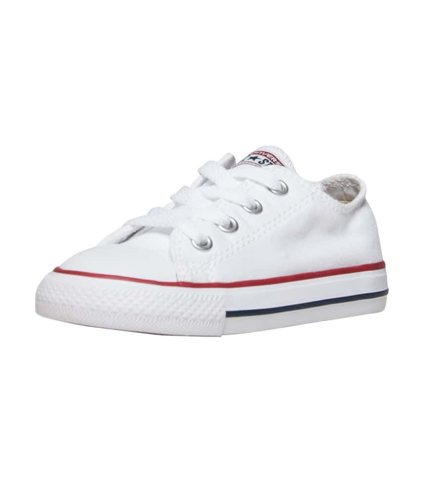 Kids/' Toddler Converse Chuck Taylor Ox Casual Shoes White 7J256 WHT