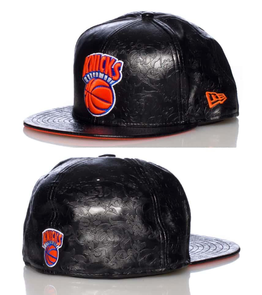 0b48cff68ea New Era NEW YORK KNICKS NBA FLORAL FITTED CAP (Black) - 80088423 ...
