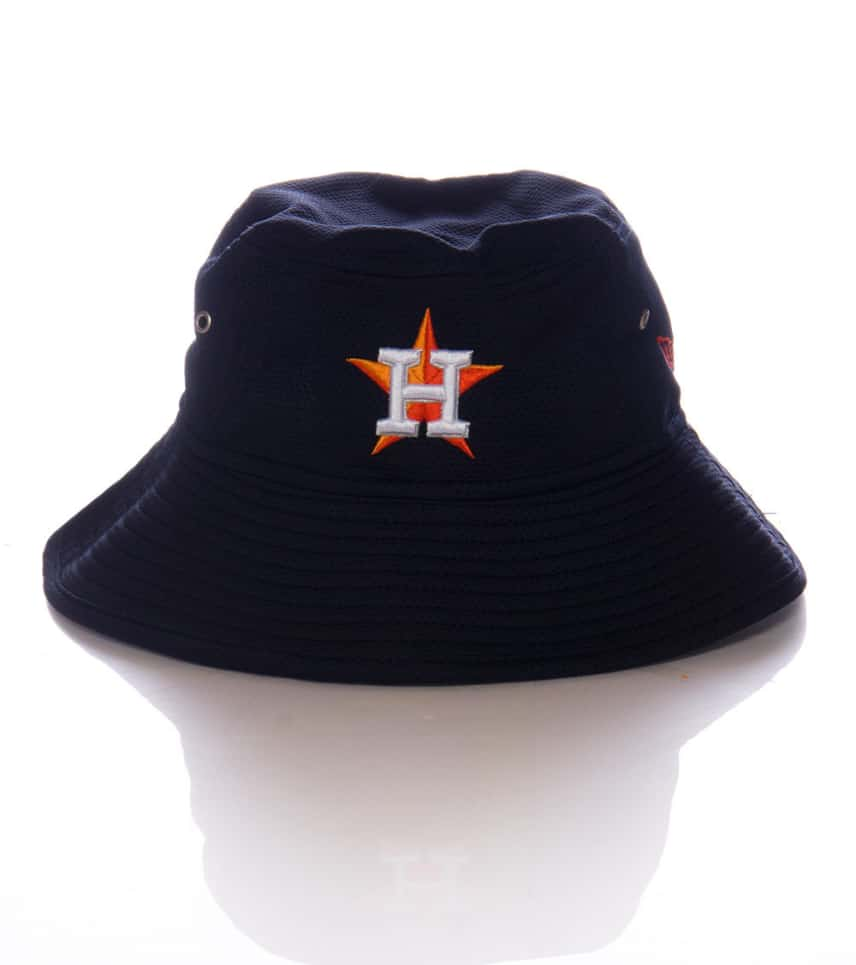 dea8affac12 New Era HOUSTON ASTROS TEAM BUCKET HAT (Navy) - 80117694H
