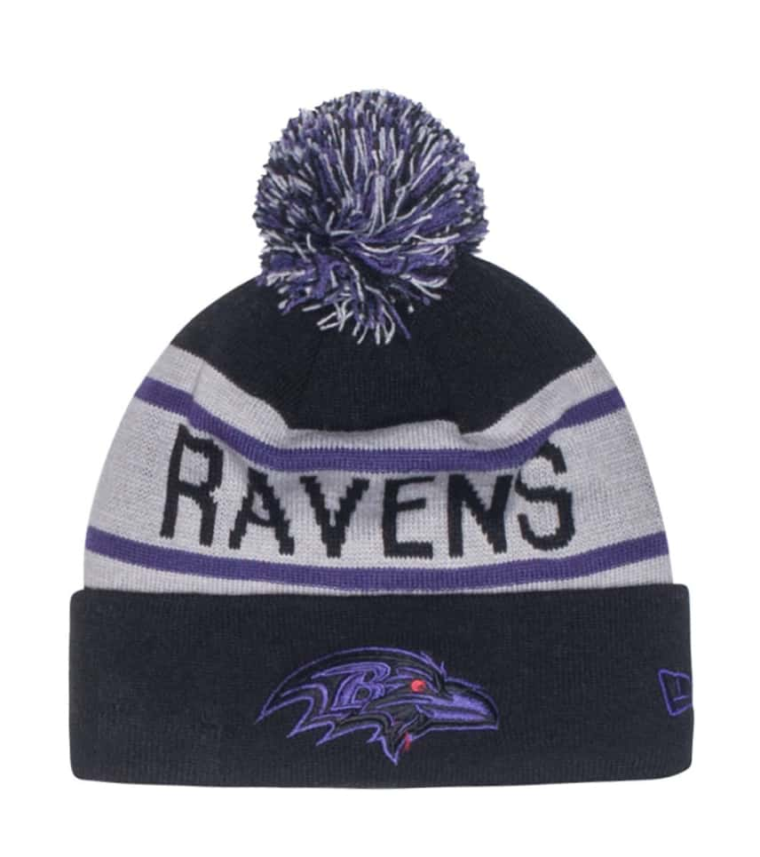 69ae30396f9 New Era Ravens NFL Biggest Fan Redux Beanie (Black) - 80172981H ...