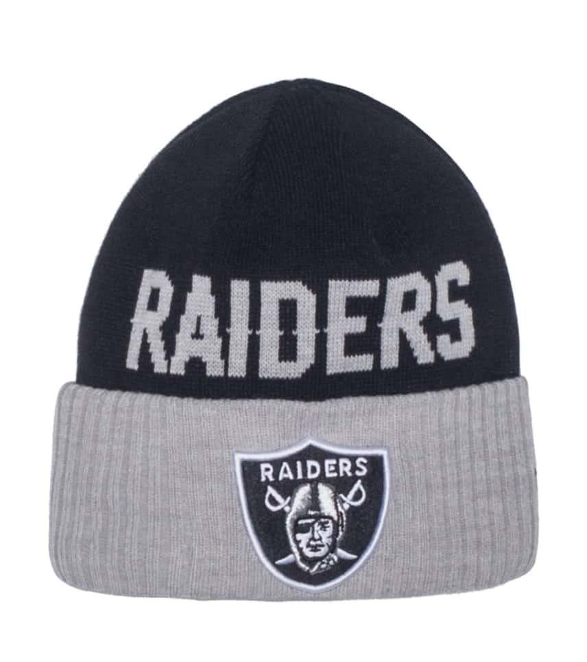 New Era Oakland Raiders NFL Knit Beanie (Black) - 80202626H  8e3bef58f0cf