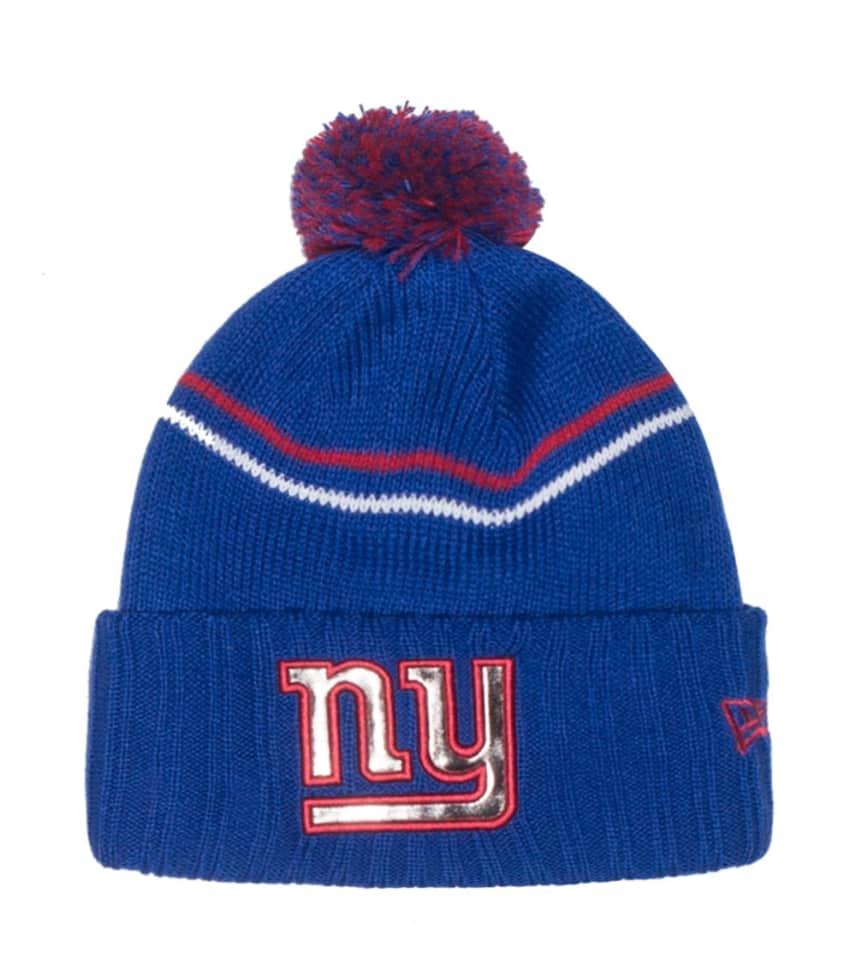 481d460ee0998a New Era NEW YORK GIANTS CRISP NFL KNIT BEANIE (Blue) - 80202685H ...