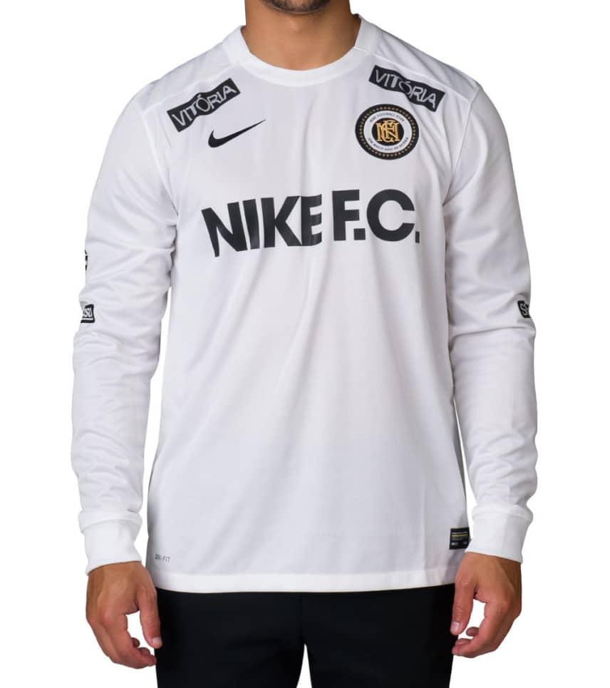 13847eaa7 Nike FC LIFESTYLE LS JERSEY (White) - 802407-100   Jimmy Jazz