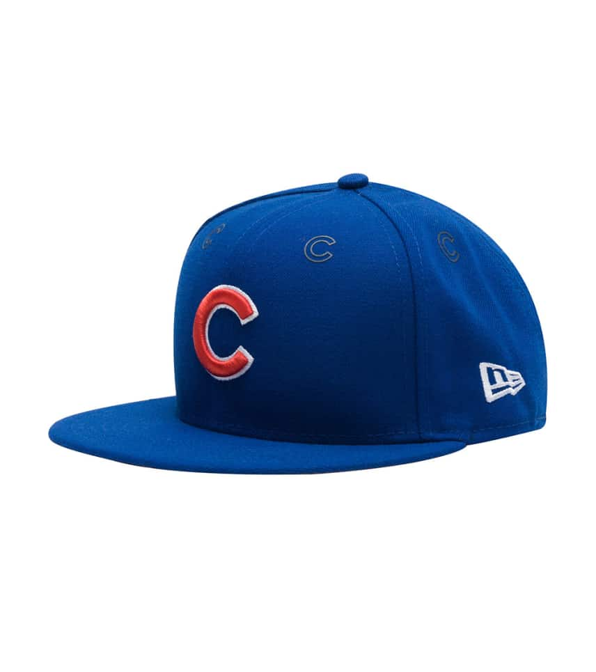 803c815b0 New Era Chicago Cubs Logo Repeat Fitted (Blue) - 80276642