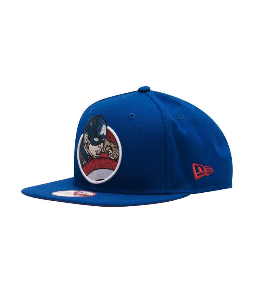 New Era Captain America Retro Snapback (Blue) - 80286461  a481d899a73