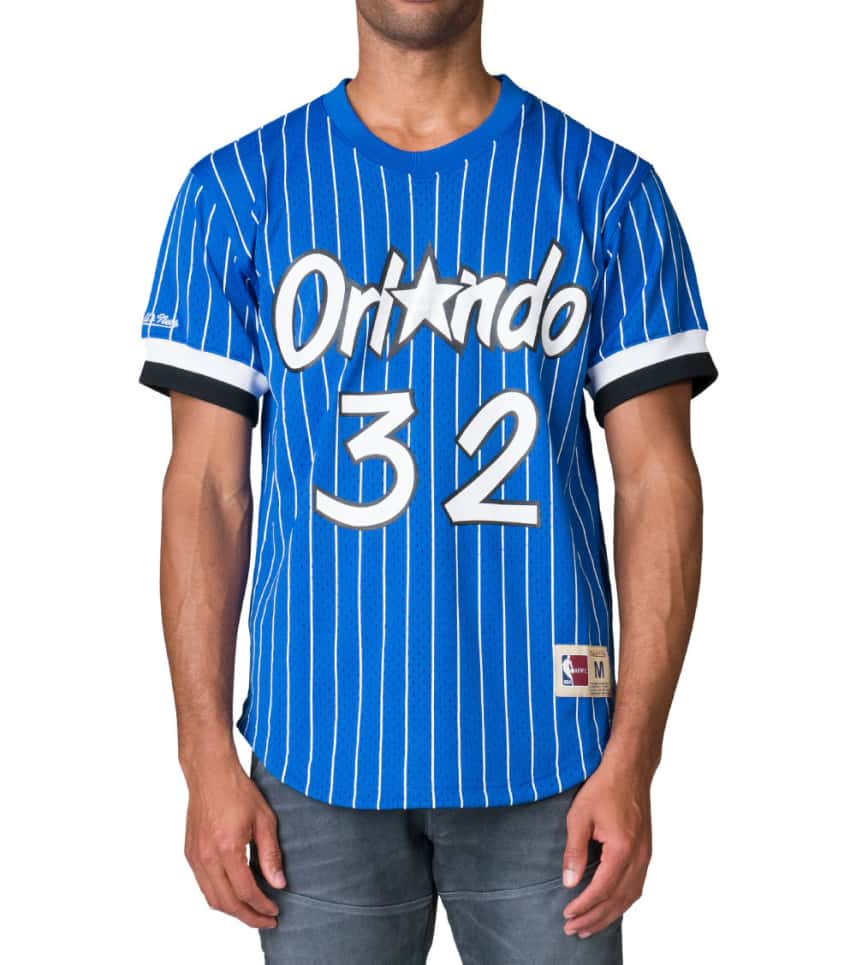 Mitchell and Ness Shaql Orlando Magic Jersey JJ Exclusive (Blue ... 9f540a0c4