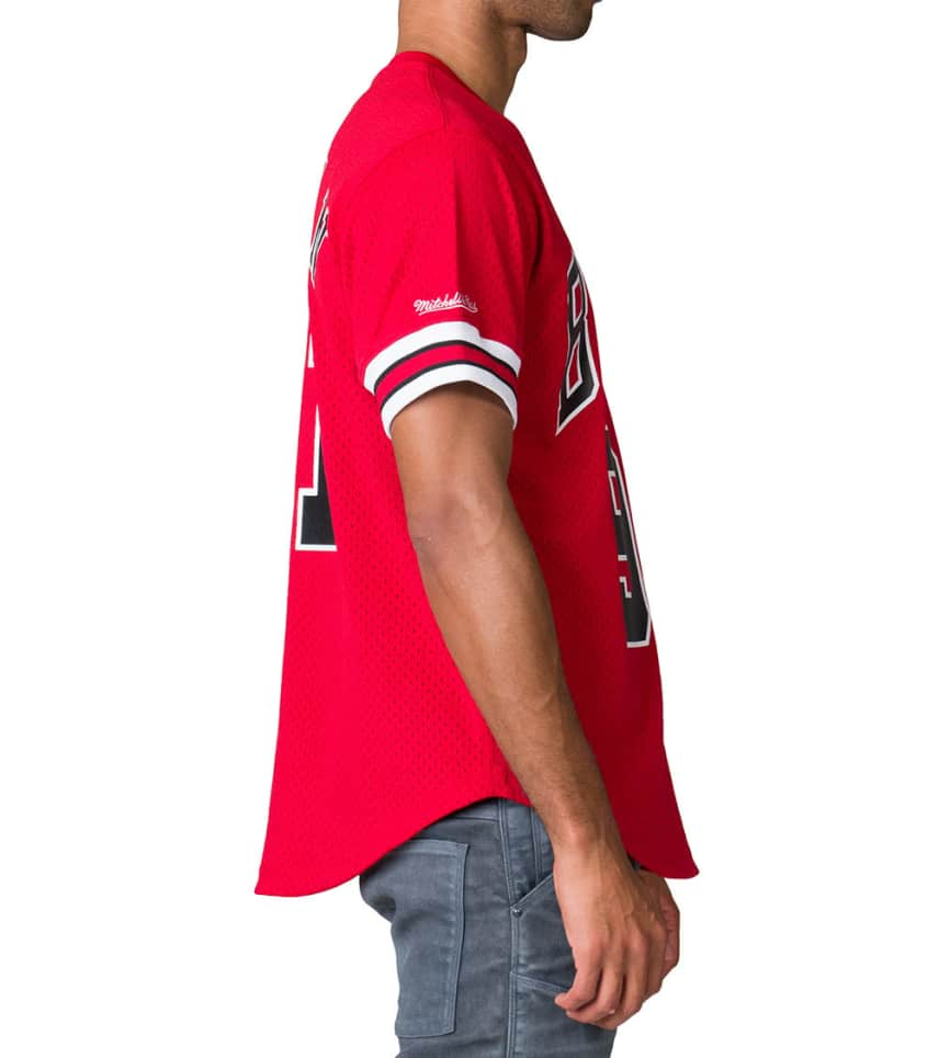 898e7e118 ... Mitchell and Ness - Tops - Rodman Chicago Bulls Jersey JJ Exclusive