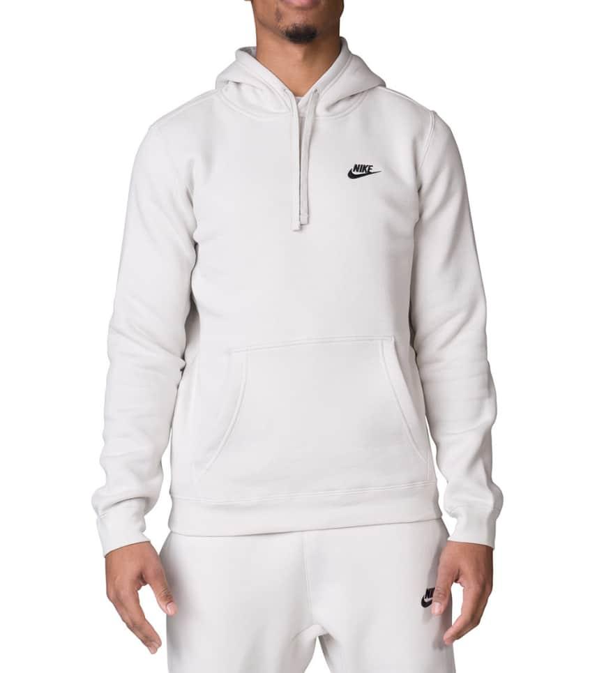 4e6914771cec Nike NIKE CLUB SWOOSH PULLOVER HOODIE (Beige-khaki) - 804346-072 ...