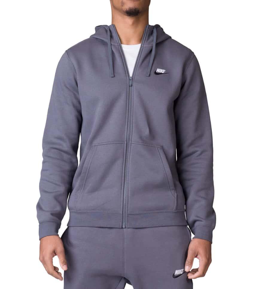 37145a79e Nike CLUB NSW FLEECE HOODIE (Dark Grey) - 804389-021 | Jimmy Jazz