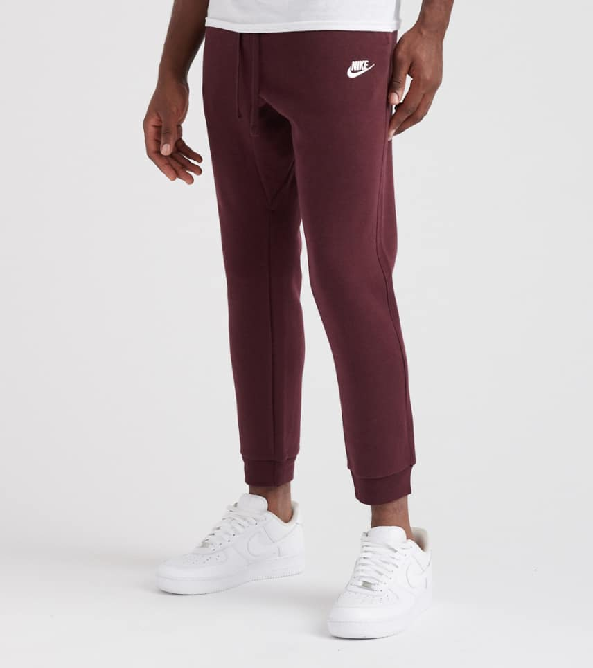 f672adfaa0e Nike Jogger Fleece Pant (Burgundy) - 804408-653 | Jimmy Jazz