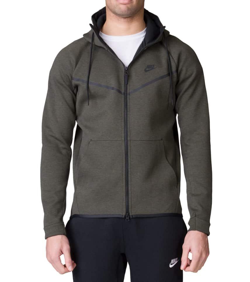 94b82b999deb Nike NSW TECH FLEECE ZIP HOODIE.  49.95orig  130.00. COLOR  Dark Green