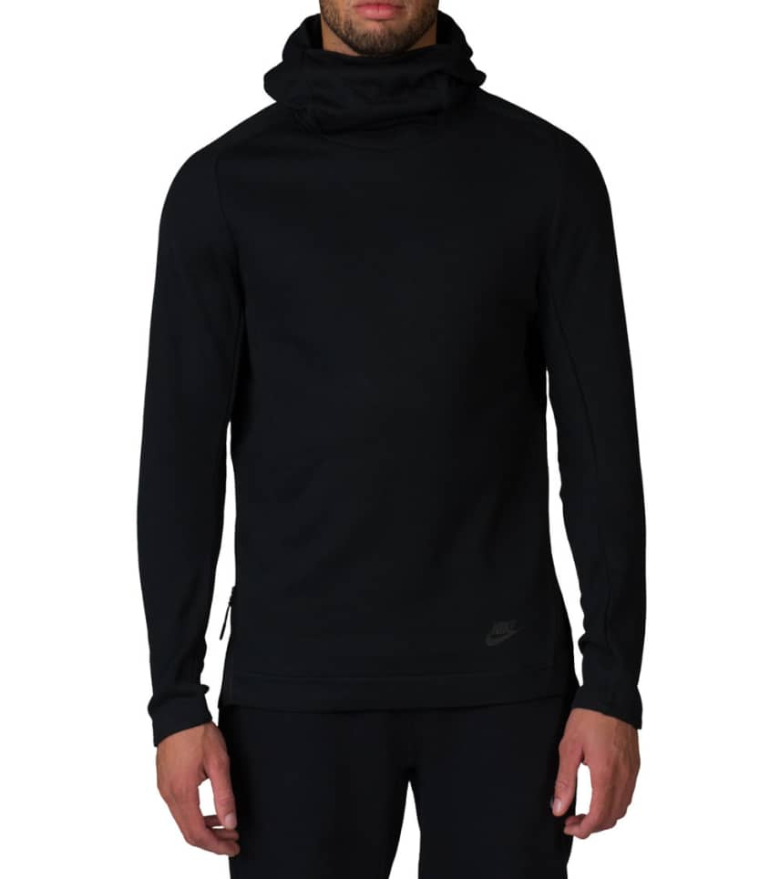 7f4effe0 NIKE SPORTSWEAR NSW TECH FLEECE PULLOVER HOODIE (Black) - 805214-010 ...