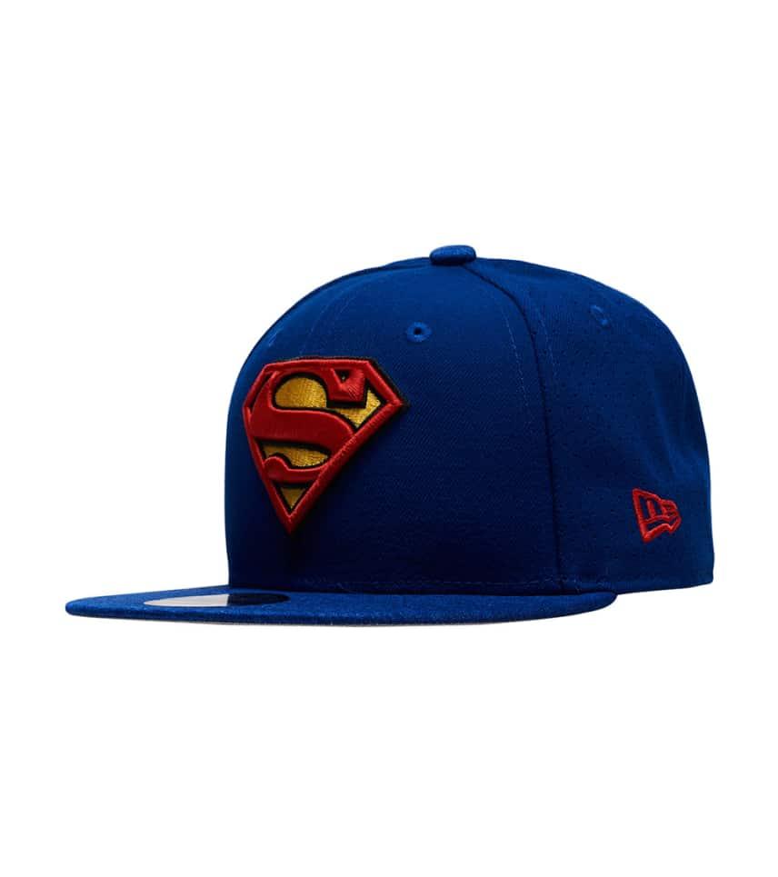dc8dd36e12e NEW ERA Superman Snapback Hat (Blue) - 80531209