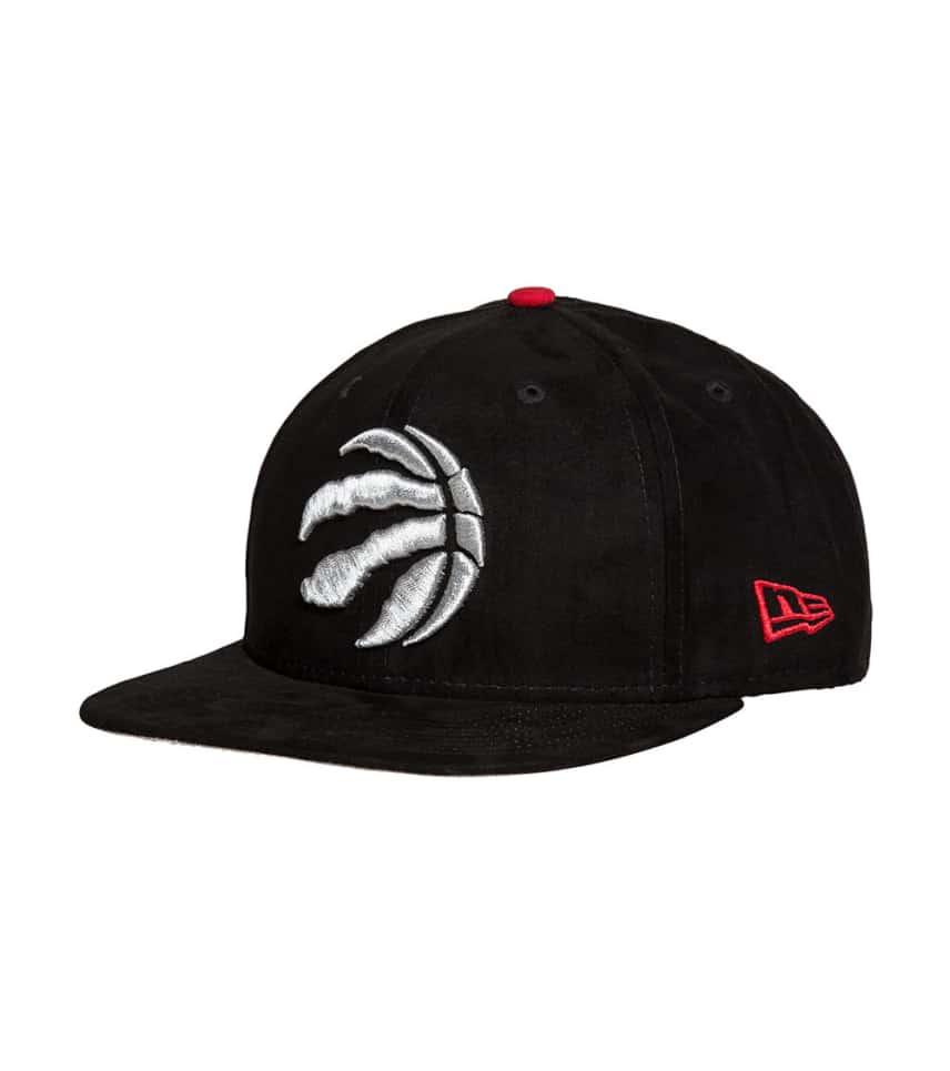 6f83799da46 New Era Toronto Raptors Suede Snapback (Black) - 80534828