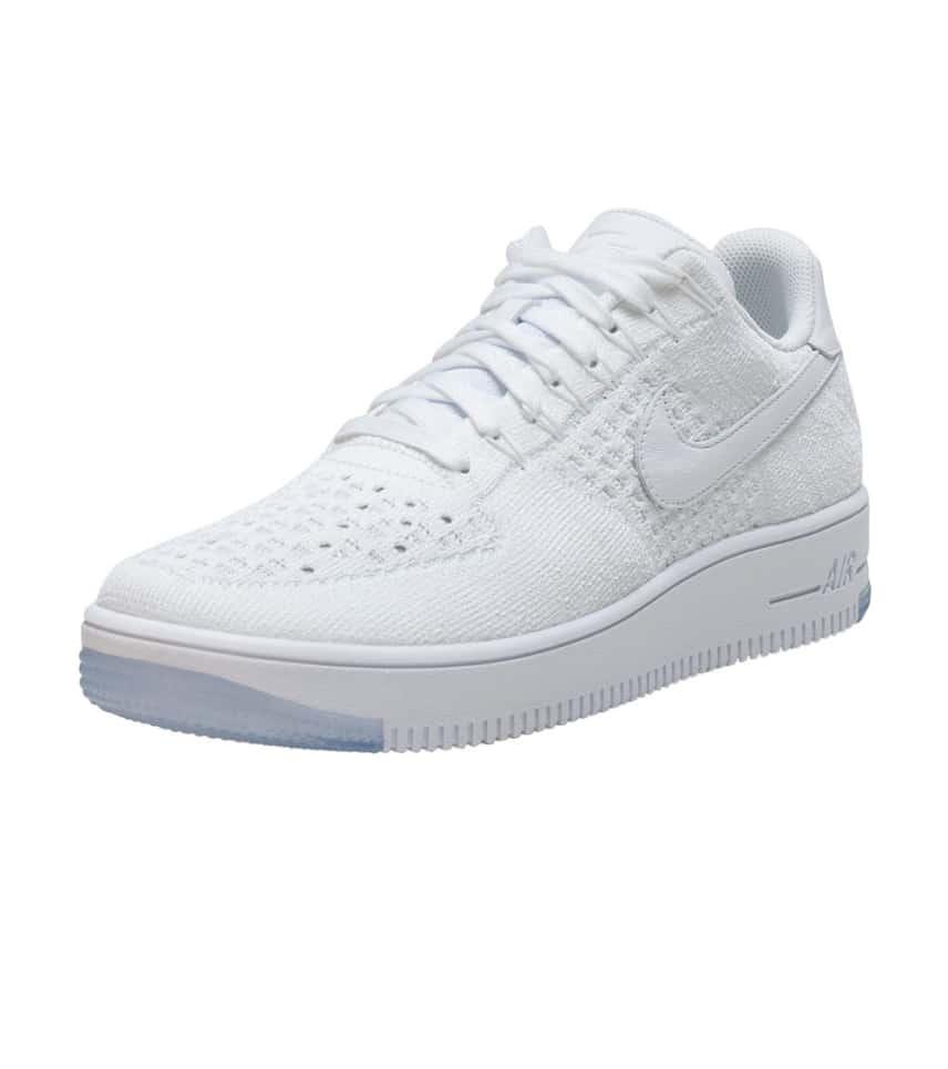 NIKE SPORTSWEAR Air Force 1 Flyknit Low Sneaker (White) - 817419-100 ... d9aaeae20d