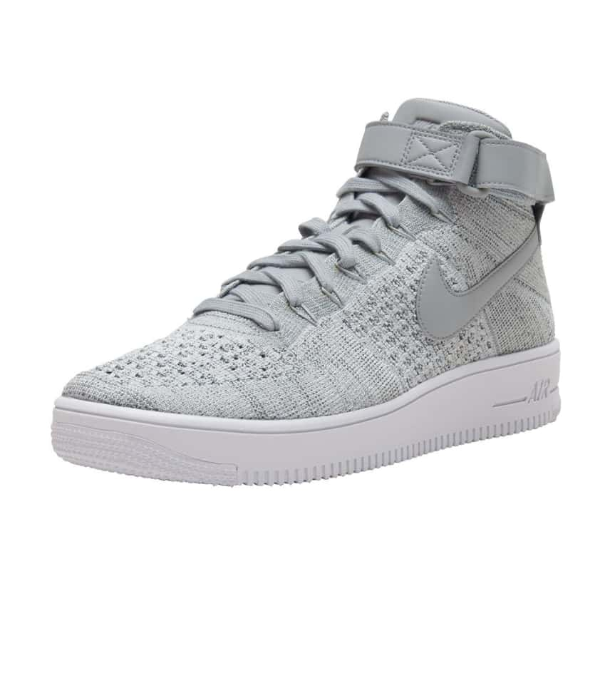 Nike AF1 Ultra Flyknit Mid Sneaker (Grey) - 817420-003  ca560b6fd50d