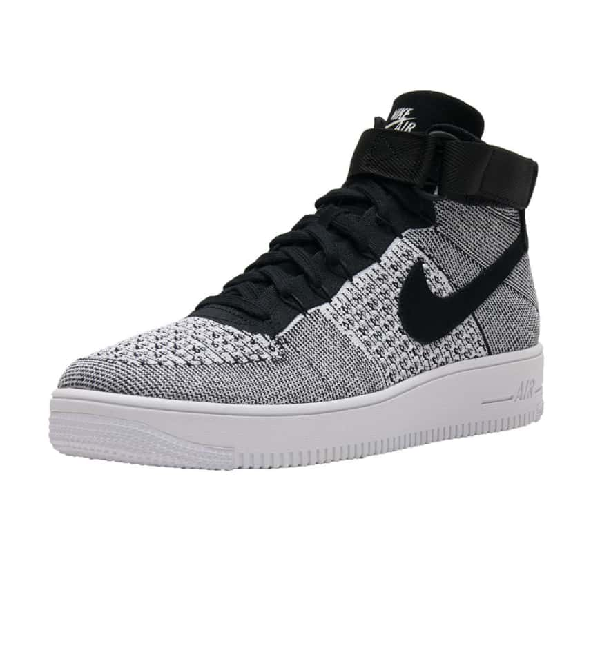 1a5836e8cd4 Nike AF1 Ultra Flyknit Mid (Black) - 817420-005