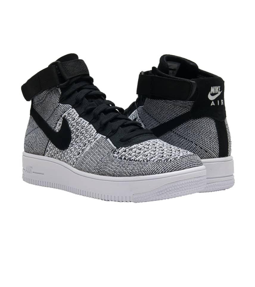 ffbcc0a87c6 Nike AF1 Ultra Flyknit Mid (Black) - 817420-005