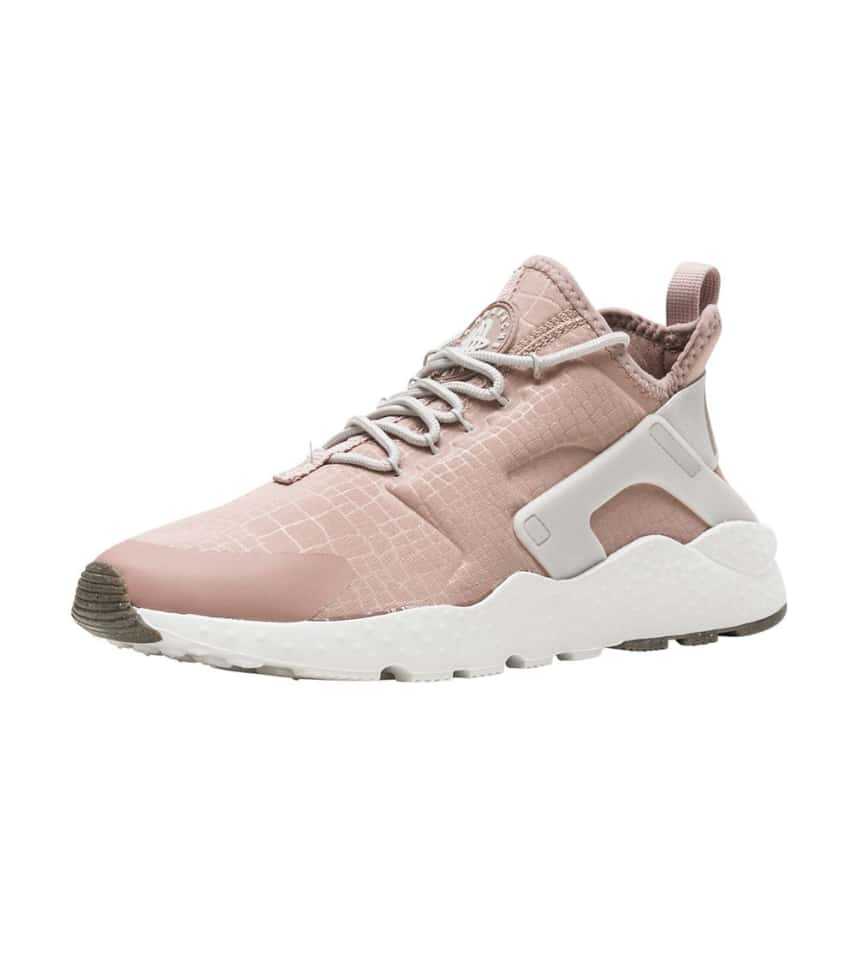 Nike Air Huarache Run Ultra Womens 819151 603 Pink Bone Running Shoes Size 10.5