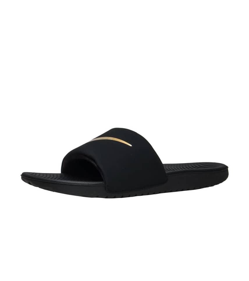 4b3d6015b151 Nike KAWA SLIDE SANDALS (Black) - 819352-003