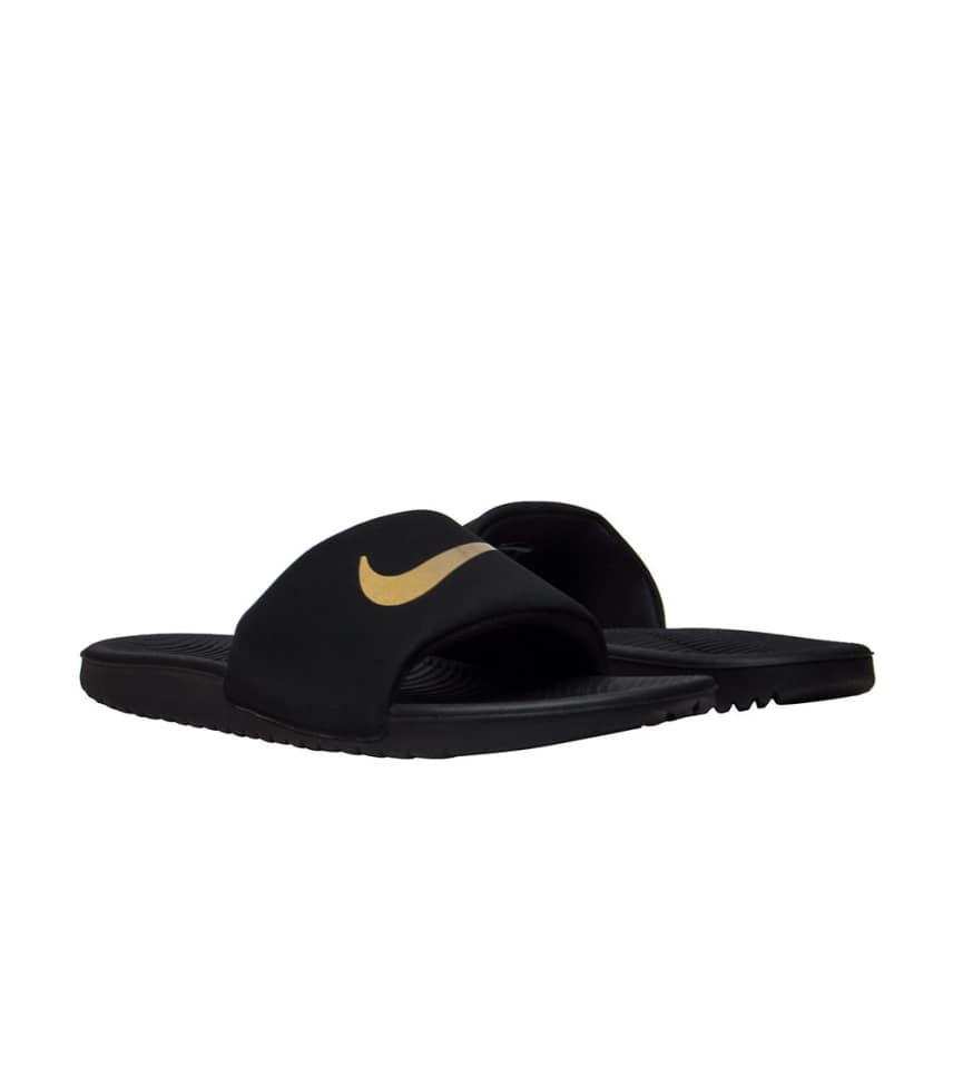 bf6255f26 Nike KAWA SLIDE SANDALS (Black) - 819352-003