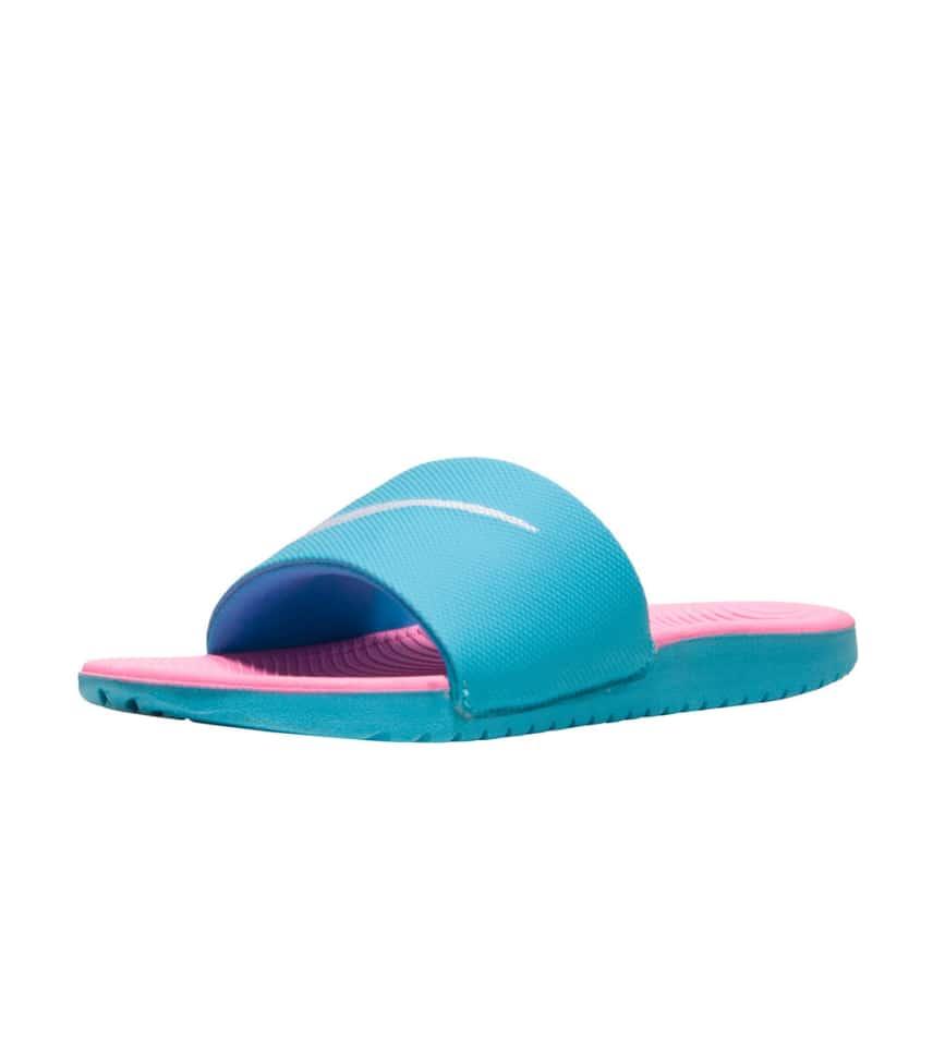 0ef28f318744 Nike KAWA SLIDE SANDALS (Blue) - 819353-400   Jimmy Jazz