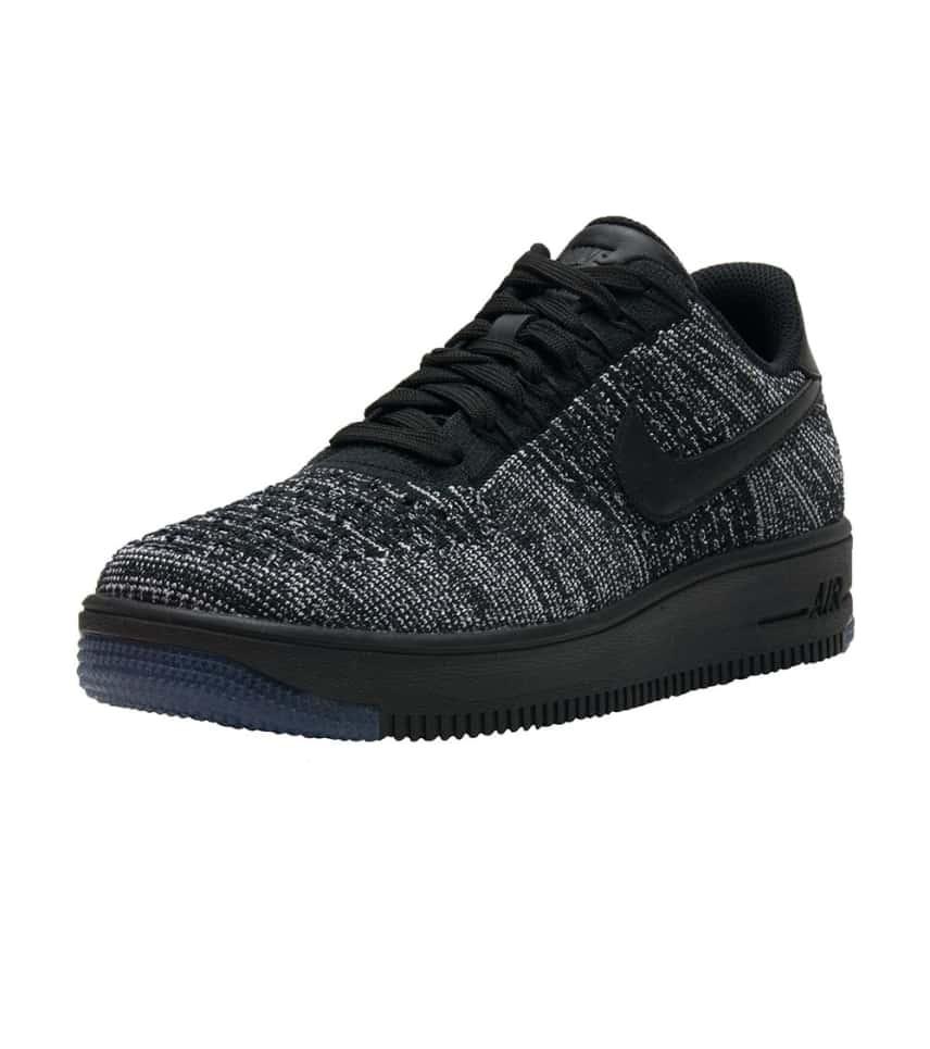b8bcb4f9af811 Nike AF1 FLYKNIT LOW (Black) - 820256-007