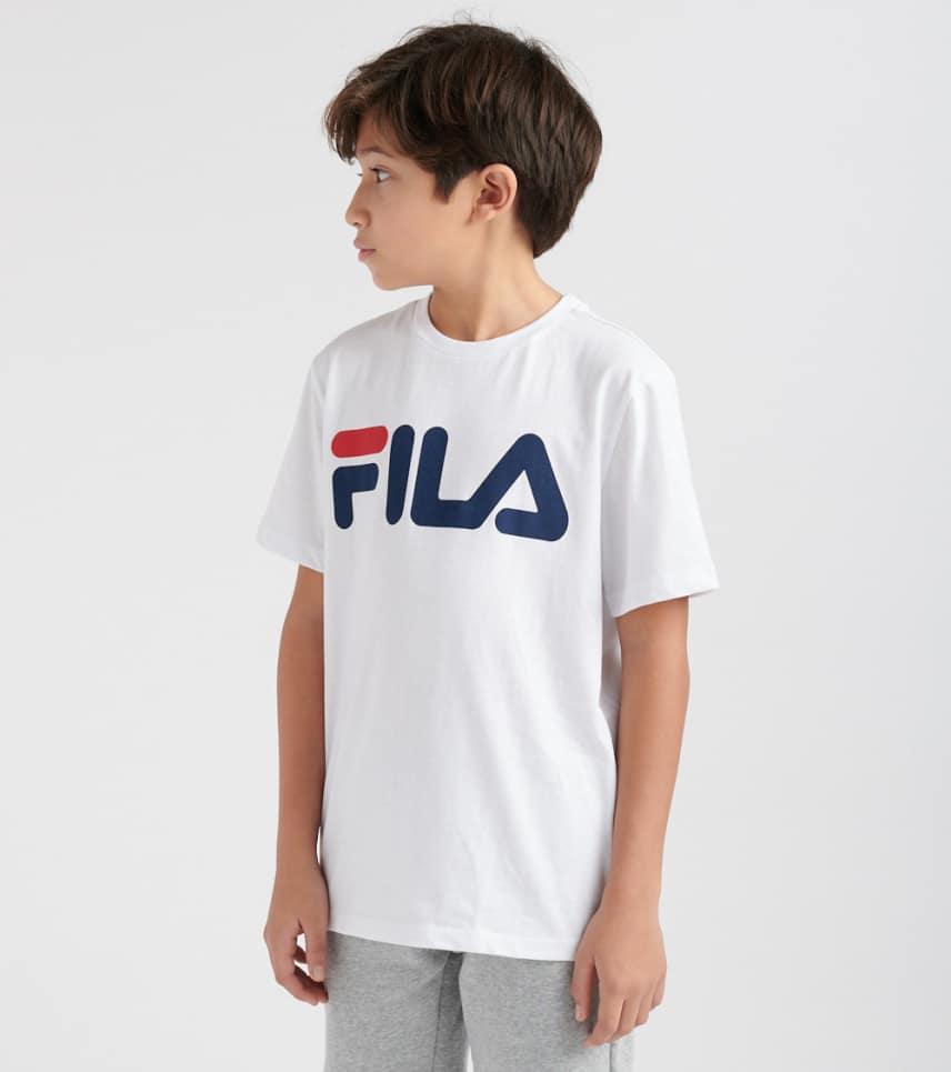 87217087f3e8 FILA Classic Logo Tee (White) - 82F77K-WHT