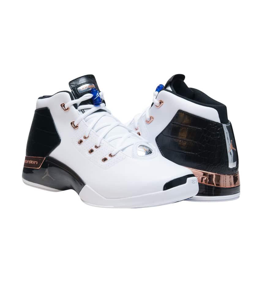 83d06b5072bfdd Jordan RETRO 17 PLUS SNEAKER (White) - 832816-122