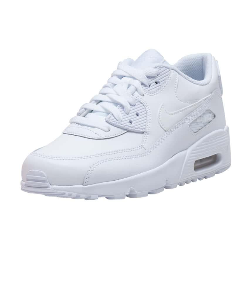 finest selection f693d 21da2 Nike AIR MAX 90 LTR SNEAKER. COLOR  White