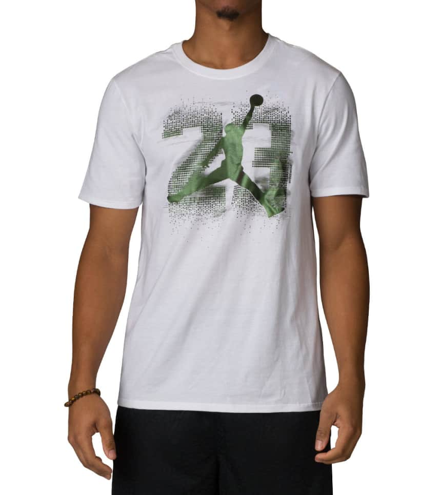 162038cf507c15 Jordan AJ 13 ELEVATED TEE (White) - 833957-100