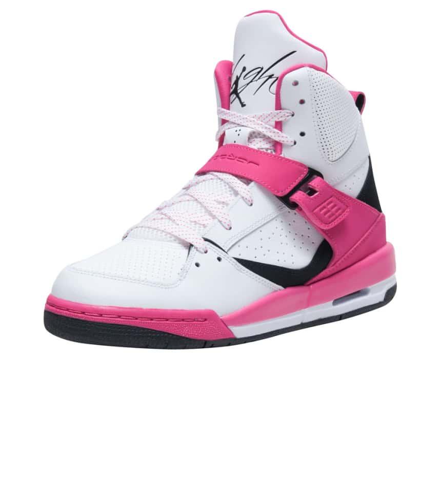 9bc9cd6907b1 Jordan FLIGHT 45 HIGH G SNEAKER (Pink) - 837024-158