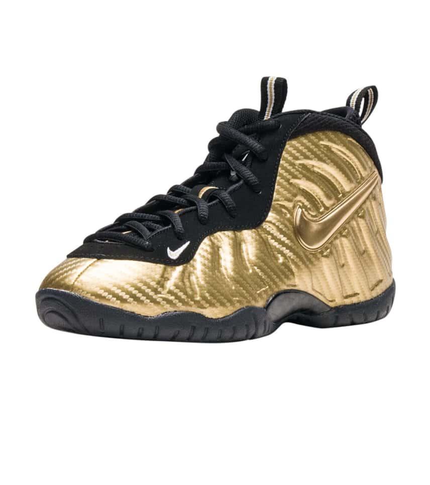 e00360a7e9158 Nike LITTLE POSITE PRO SNEAKER (Gold) - 843755-701